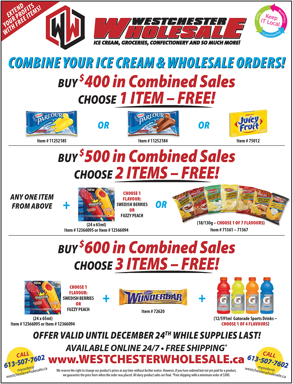 Combine Your Order and Select Free Products
