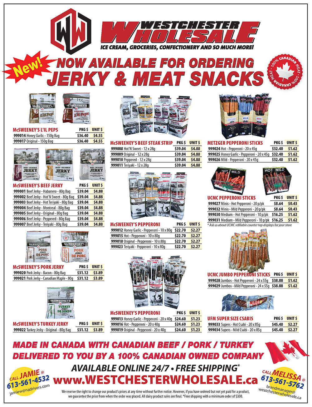 Checkout our current Westchester Wholesale flyers